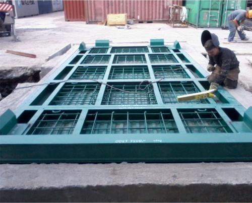 Взвешивание морских контейнеров