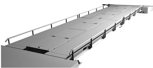 Весы автомобильные ВСА для статического взвешивания цельнометаллические